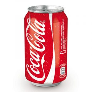 Coca Cola lata cl 33