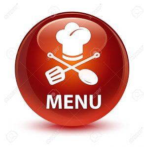 menu pizzeria